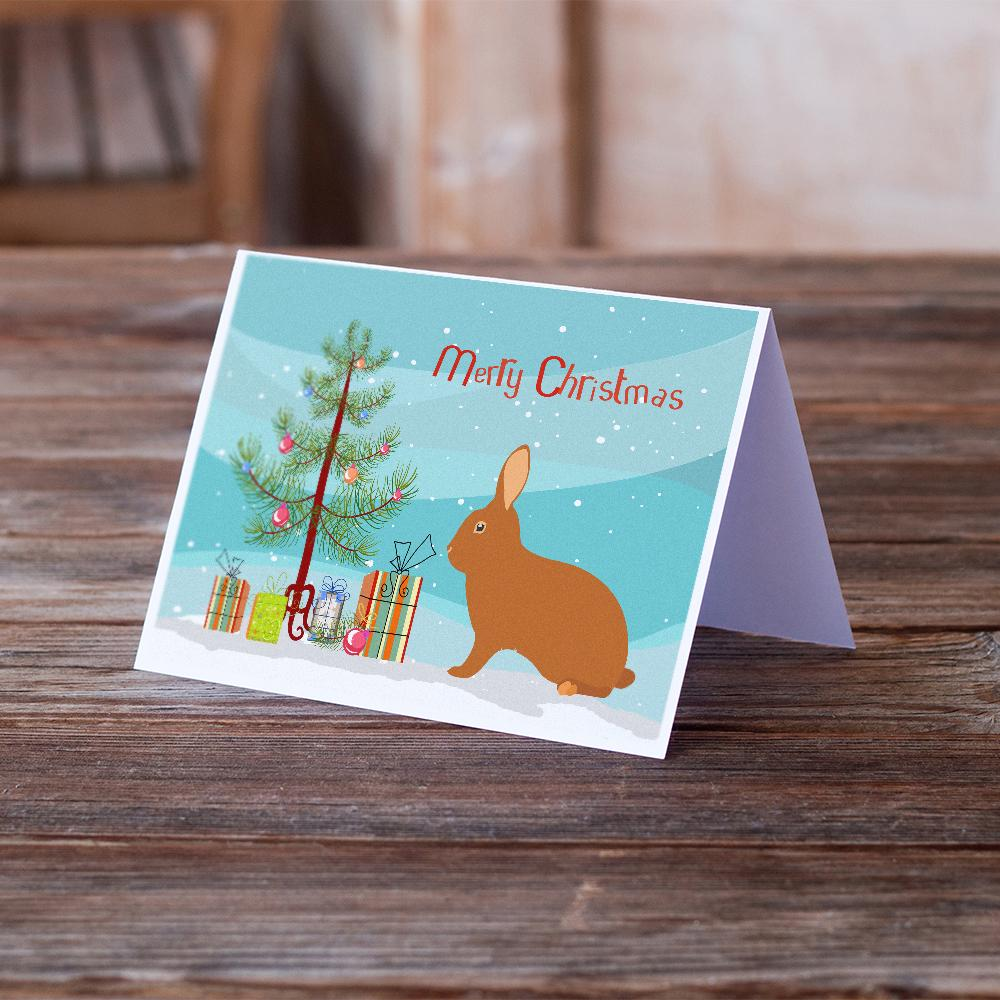 Buy this Rex Rabbit Christmas Greeting Cards and Envelopes Pack of 8