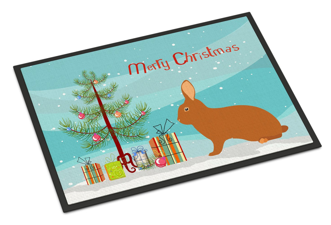 Buy this Rex Rabbit Christmas Indoor or Outdoor Mat 24x36 BB9336JMAT
