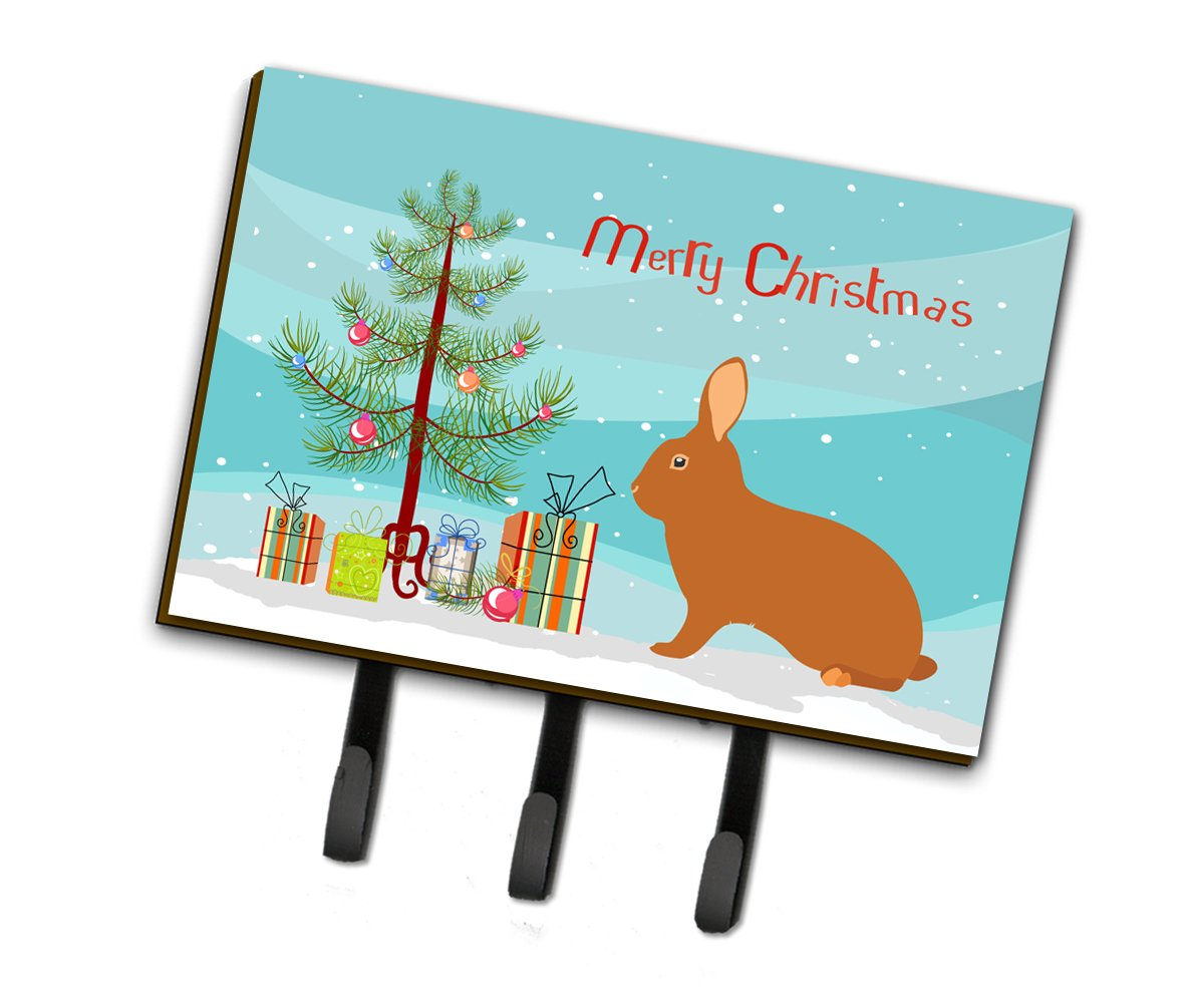 Rex Rabbit Christmas Leash or Key Holder BB9336TH68 by Caroline's Treasures
