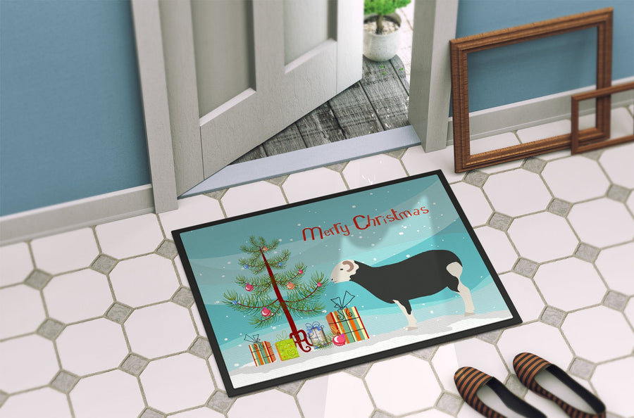 Buy this Herwick Sheep Christmas Indoor or Outdoor Mat 24x36 BB9337JMAT