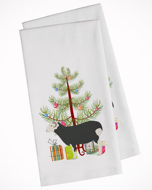 Buy this Herwick Sheep Christmas White Kitchen Towel Set of 2 BB9337WTKT