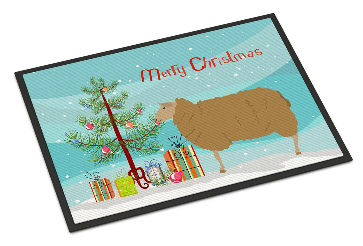 Buy this East Friesian Sheep Christmas Indoor or Outdoor Mat 24x36 BB9344JMAT