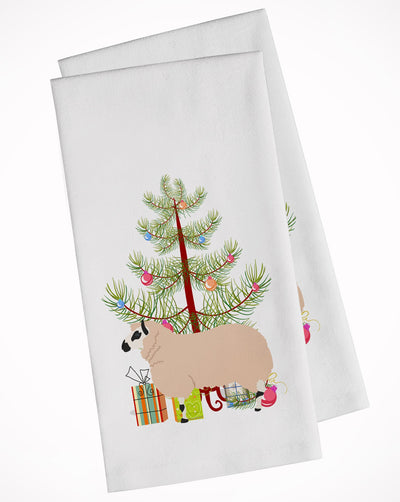 Buy this Kerry Hill Sheep Christmas White Kitchen Towel Set of 2 BB9346WTKT