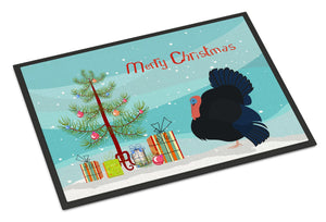 Buy this Norfolk Black Turkey Christmas Indoor or Outdoor Mat 24x36 BB9352JMAT