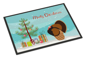 Buy this Bronze Turkey Christmas Indoor or Outdoor Mat 24x36 BB9353JMAT