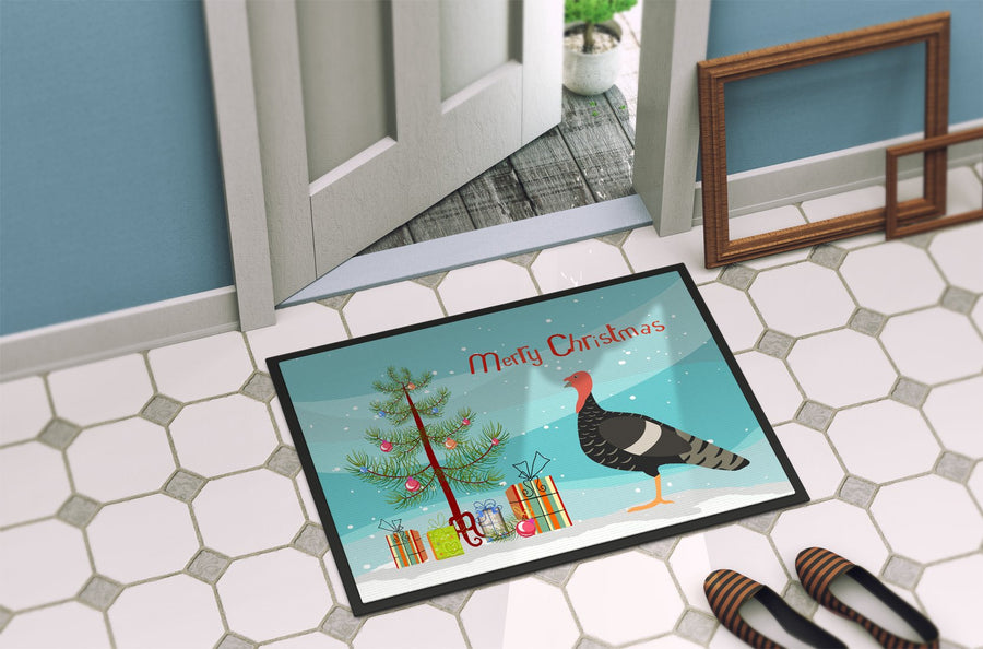 Buy this Marragansett Turkey Christmas Indoor or Outdoor Mat 24x36 BB9354JMAT