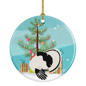 Buy this Royal Palm Turkey Christmas Ceramic Ornament BB9355CO1