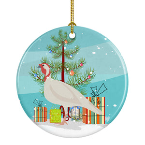 Buy this Beltsville Small White Turkey Hen Christmas Ceramic Ornament BB9356CO1