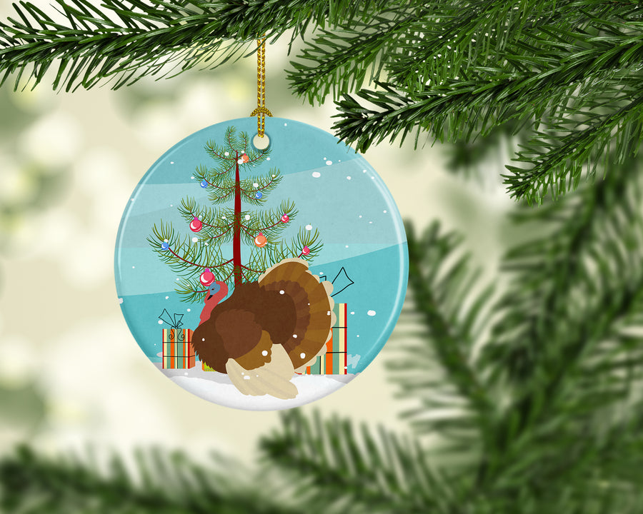 Buy this French Turkey Dindon Christmas Ceramic Ornament BB9357CO1