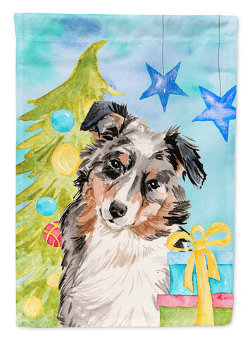 Buy this Australian Shepherd Christmas Flag Garden Size BB9397GF