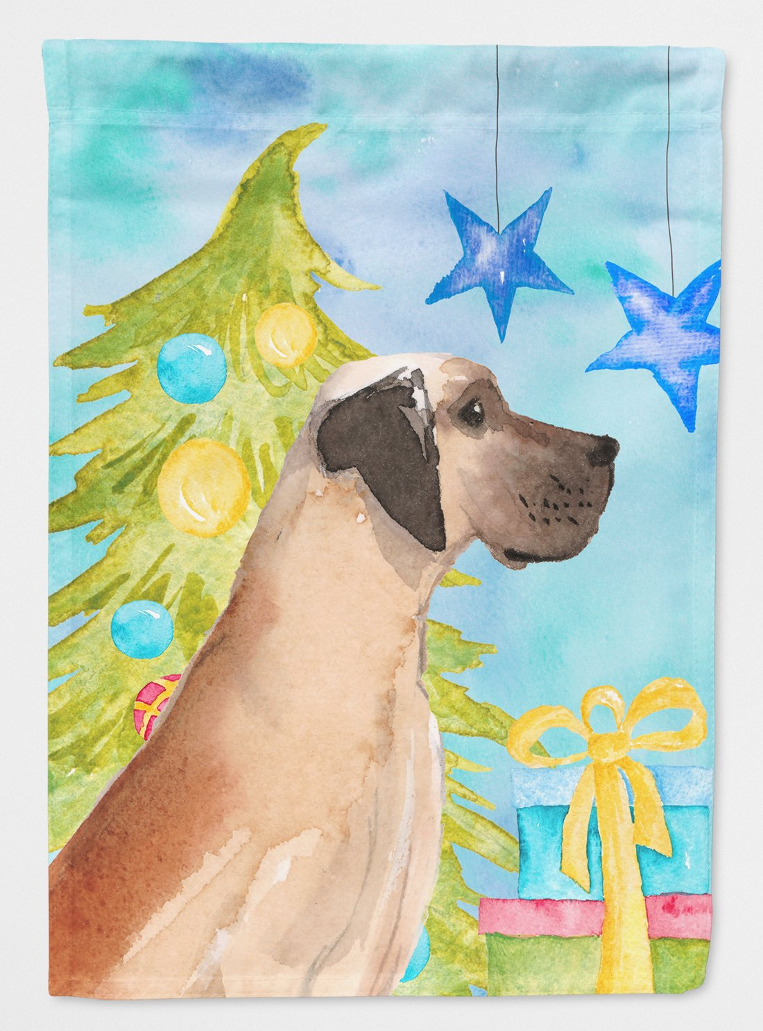 Fawn Natural Great Dane Christmas Flag Garden Size BB9419GF by Caroline's Treasures