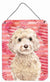 Champagne Cockapoo Love Wall or Door Hanging Prints BB9480DS1216 by Caroline's Treasures