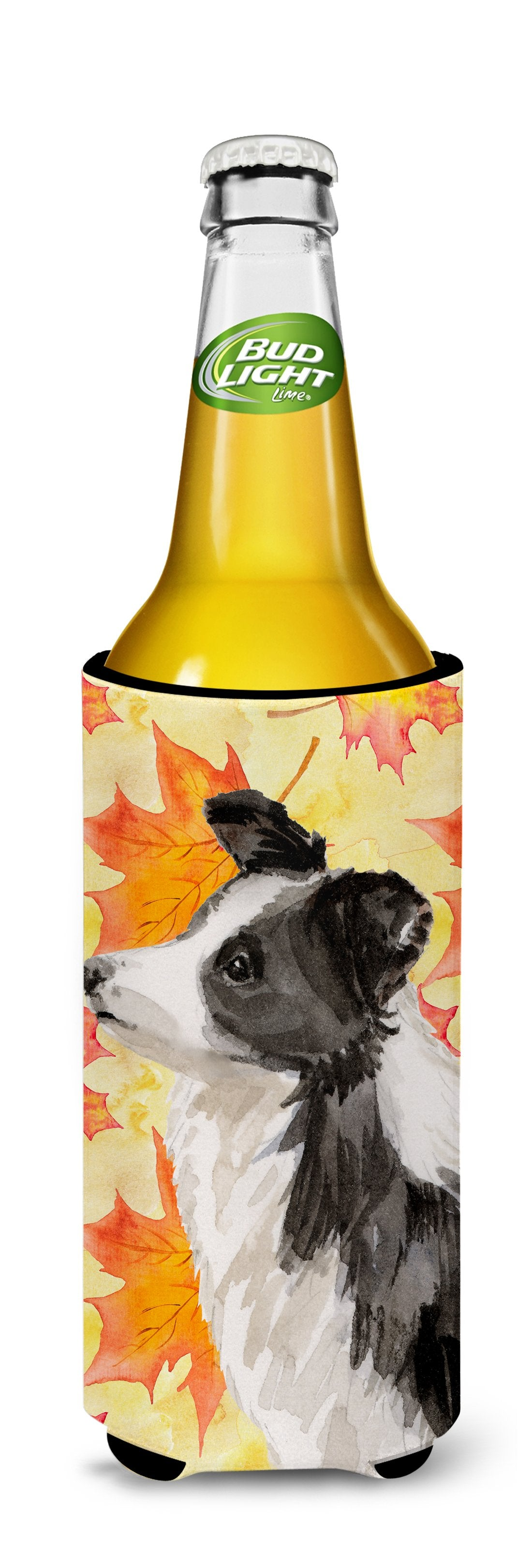 Border Collie Fall Michelob Ultra Hugger for slim cans BB9513MUK by Caroline's Treasures