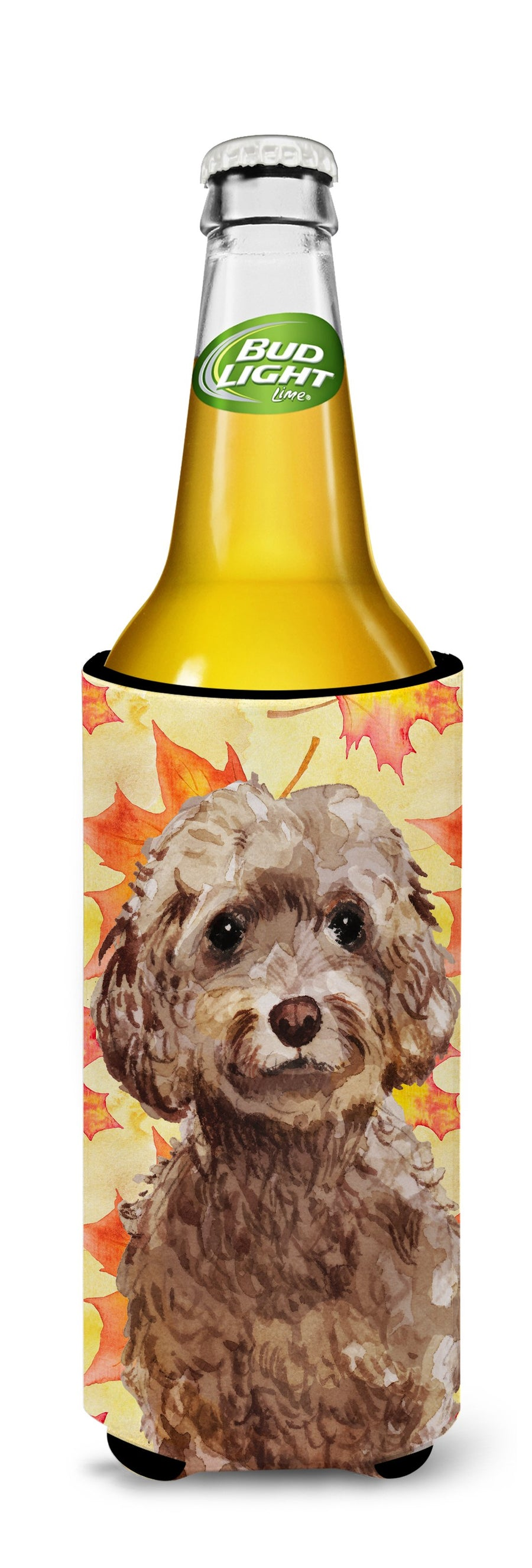 Buy this Brown Cockapoo Fall Michelob Ultra Hugger for slim cans BB9514MUK
