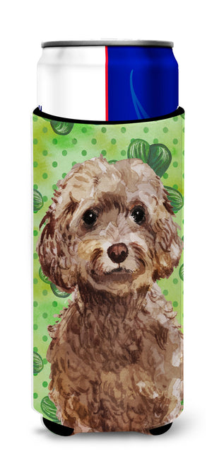 Buy this Brown Cockapoo St. Patrick's Michelob Ultra Hugger for slim cans BB9549MUK