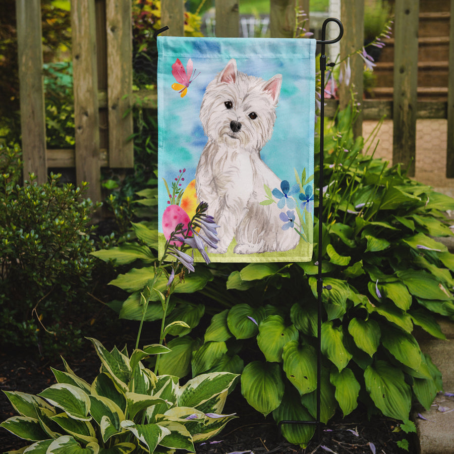 Buy this Westie Easter Flag Garden Size BB9604GF