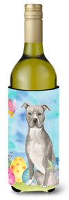 Buy this Staffordshire Bull Terrier Easter Wine Bottle Beverge Insulator Hugger BB9605LITERK