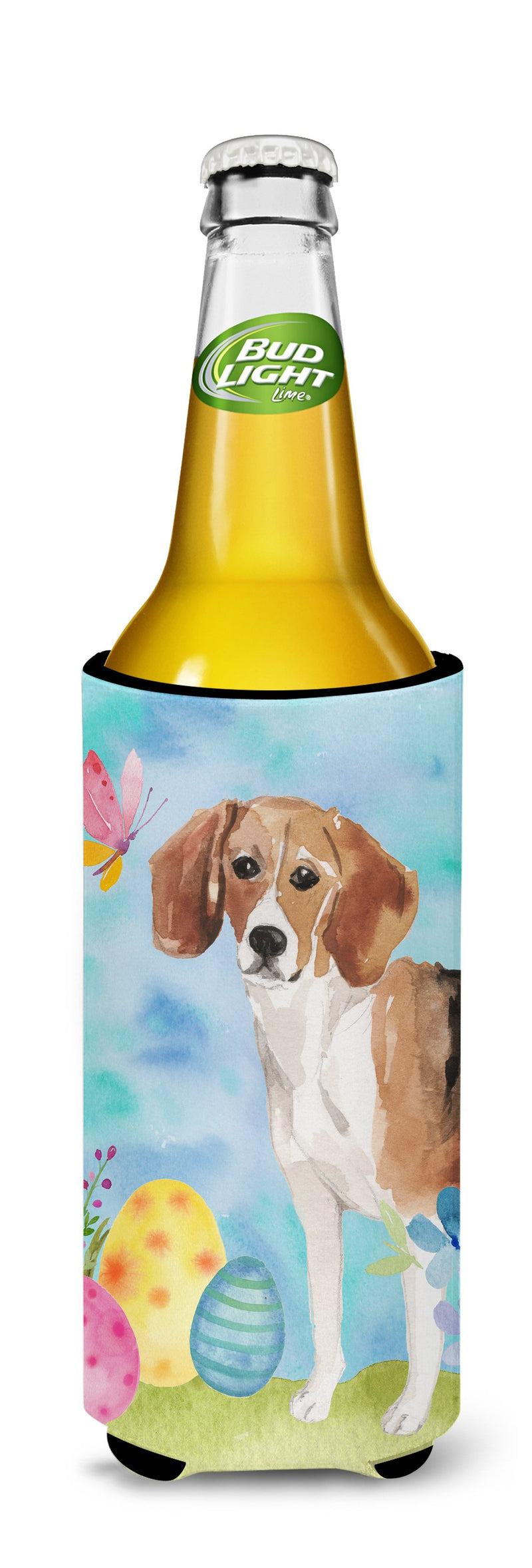 Buy this Beagle Easter Michelob Ultra Hugger for slim cans BB9614MUK