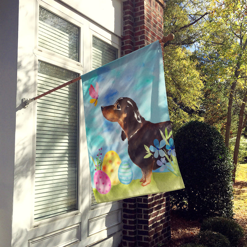 Buy this Black and Tan Dachshund Easter Flag Canvas House Size BB9615CHF