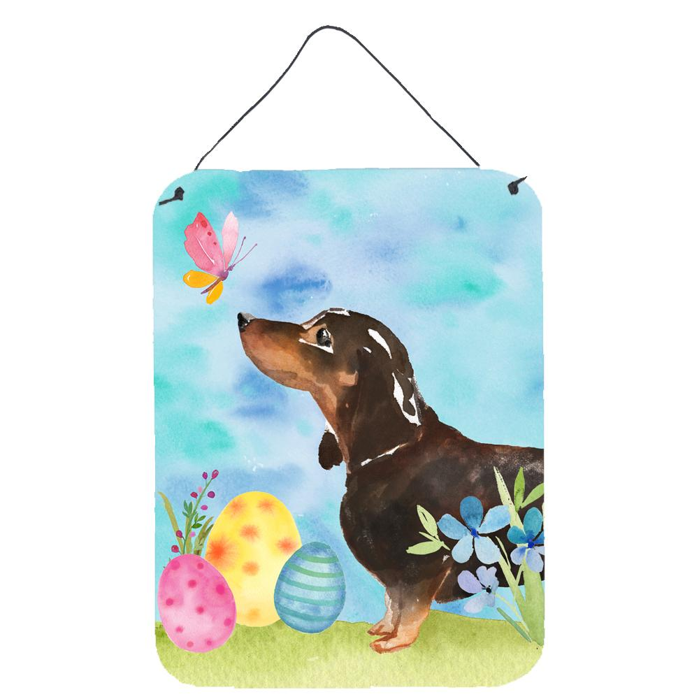 Buy this Black and Tan Dachshund Easter Wall or Door Hanging Prints BB9615DS1216