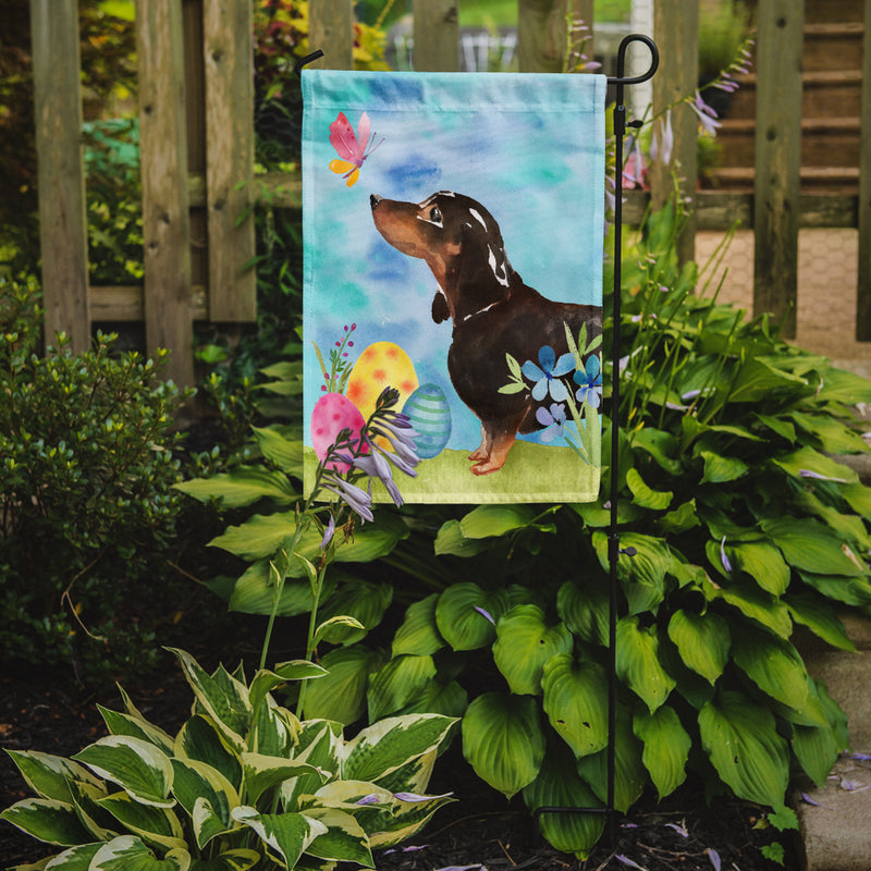 Buy this Black and Tan Dachshund Easter Flag Garden Size BB9615GF