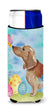 Buy this Red Tan Dachshund Easter Michelob Ultra Hugger for slim cans BB9616MUK