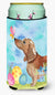 Buy this Red Tan Dachshund Easter Tall Boy Beverage Insulator Hugger BB9616TBC