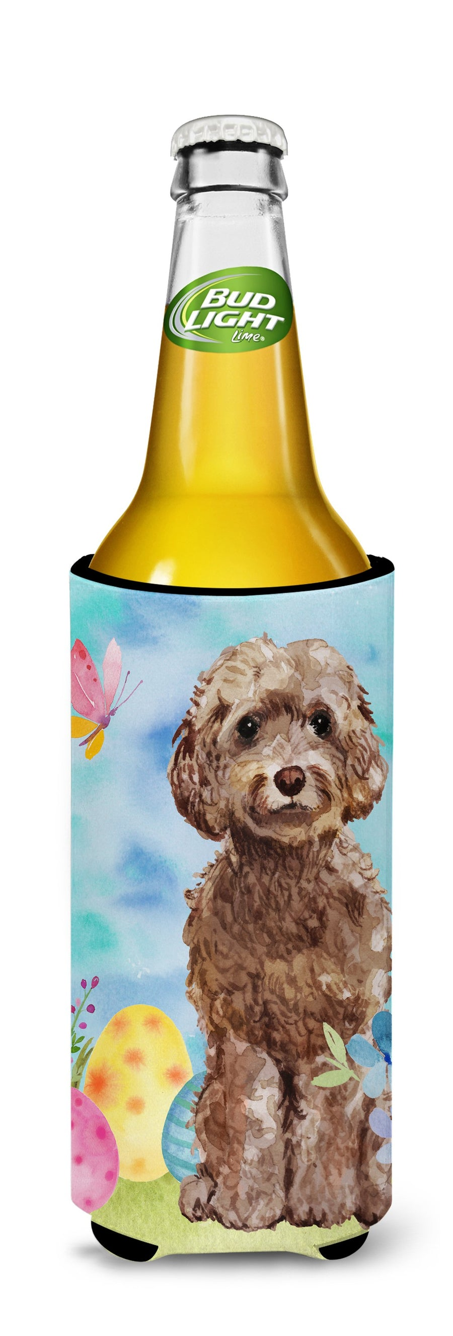 Buy this Brown Cockapoo Easter Michelob Ultra Hugger for slim cans BB9619MUK