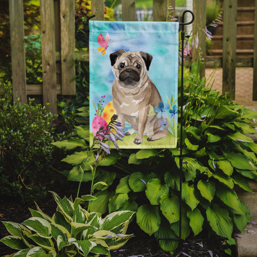 Buy this Fawn Pug Easter Flag Garden Size BB9635GF