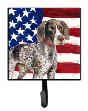 Buy this German Shorthaired Pointer Patriotic Leash or Key Holder BB9641SH4