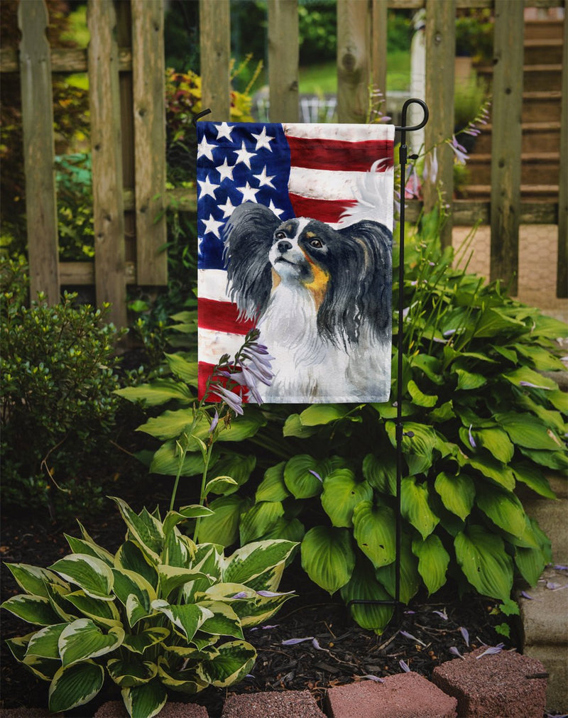 Buy this Papillon Patriotic Flag Garden Size BB9657GF
