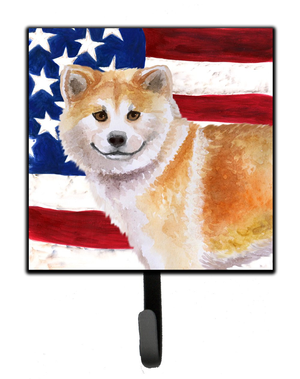 Buy this Shiba Inu Patriotic Leash or Key Holder BB9678SH4