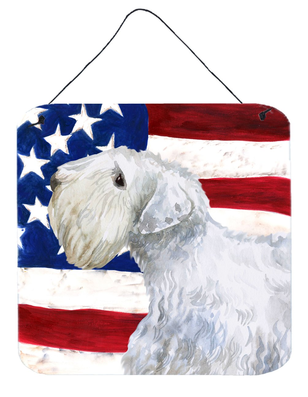 Buy this Sealyham Terrier Patriotic Wall or Door Hanging Prints BB9684DS66