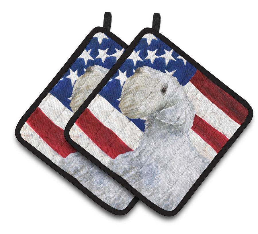 Buy this Sealyham Terrier Patriotic Pair of Pot Holders BB9684PTHD