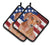 Red Dachshund Patriotic Pair of Pot Holders BB9707PTHD by Caroline's Treasures