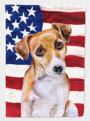 Buy this Jack Russell Terrier #2 Patriotic Flag Garden Size BB9713GF