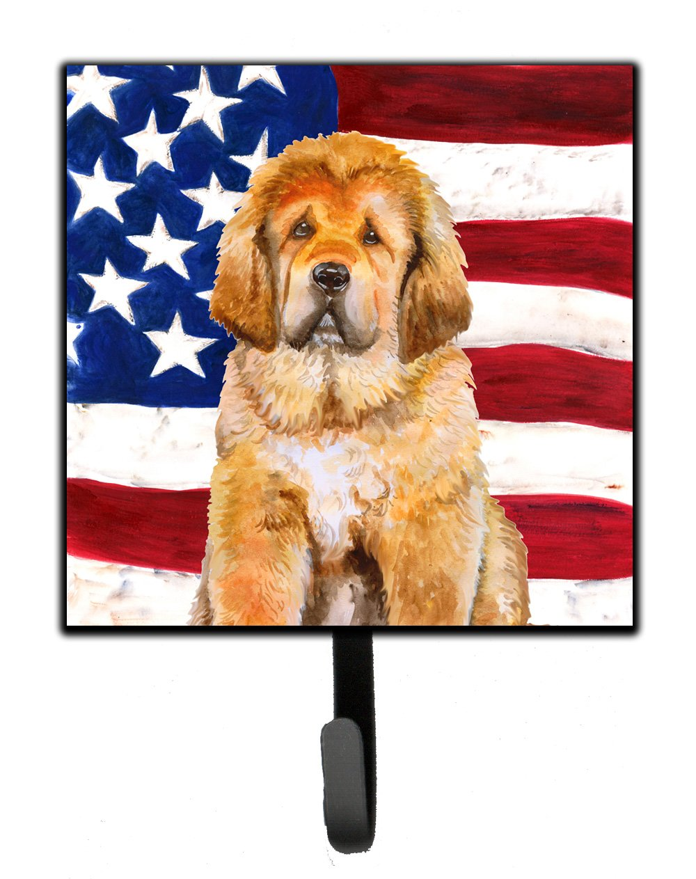 Buy this Tibetan Mastiff Patriotic Leash or Key Holder BB9721SH4