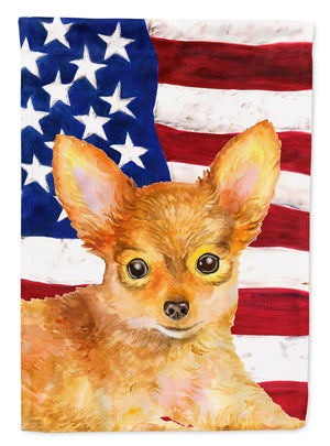 Buy this Toy Terrier Patriotic Flag Canvas House Size BB9722CHF
