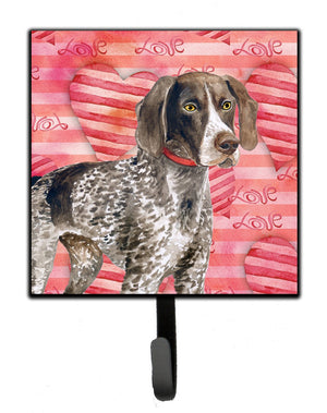 Buy this German Shorthaired Pointer Love Leash or Key Holder BB9728SH4