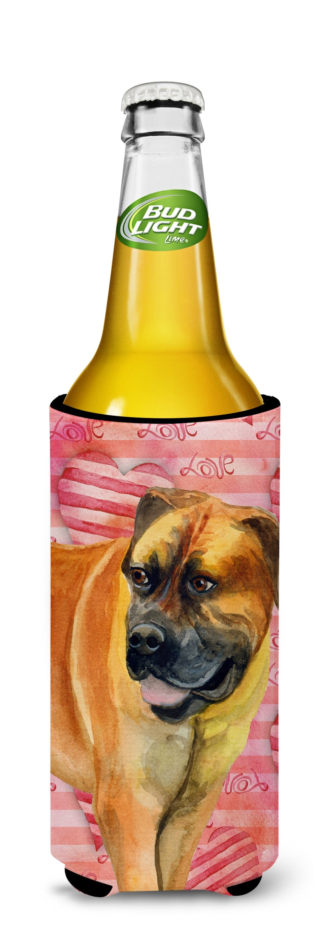 Boerboel Mastiff Love Michelob Ultra Hugger for slim cans BB9733MUK by Caroline's Treasures