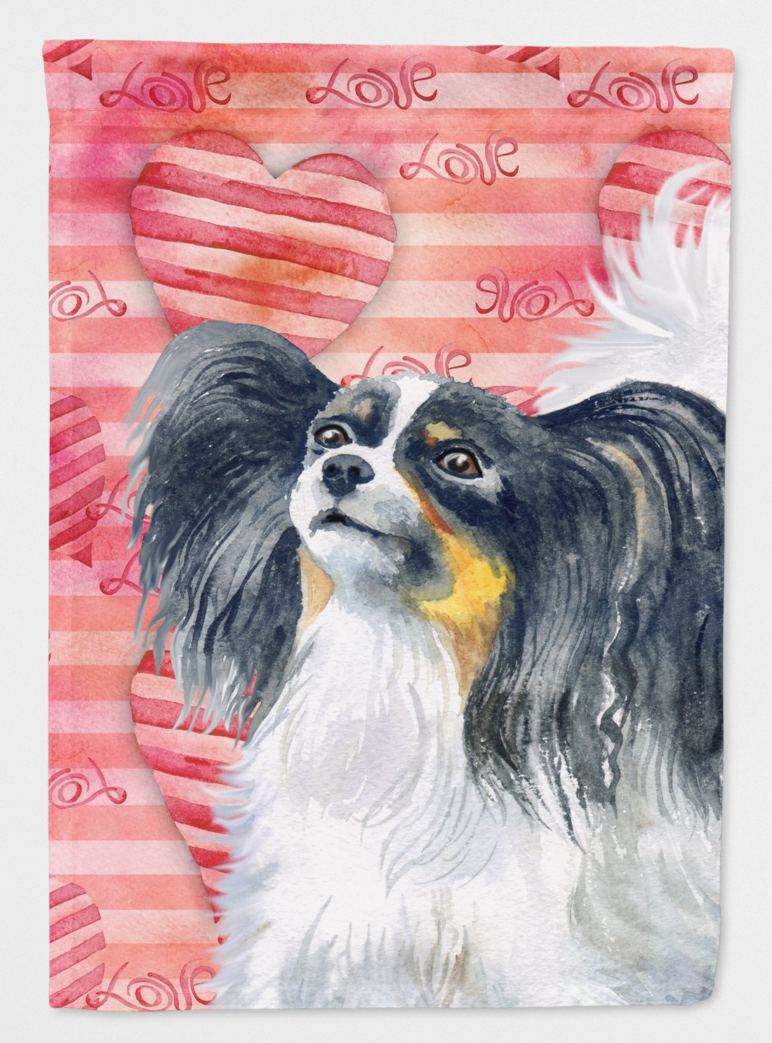 Buy this Papillon Love Flag Garden Size BB9744GF