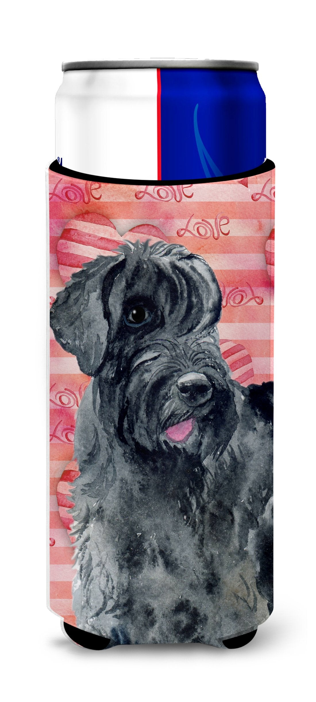 Giant Schnauzer Love Michelob Ultra Hugger for slim cans BB9747MUK by Caroline's Treasures