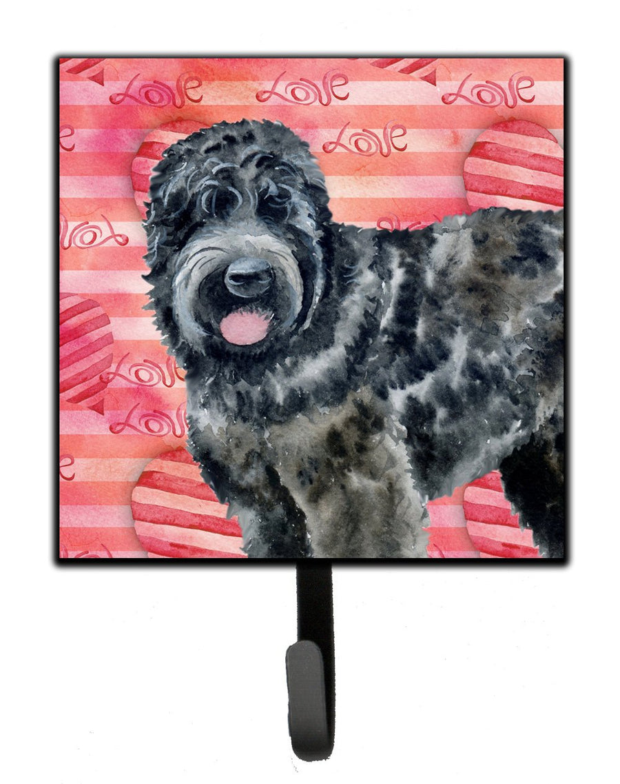 Buy this Black Russian Terrier Love Leash or Key Holder BB9764SH4