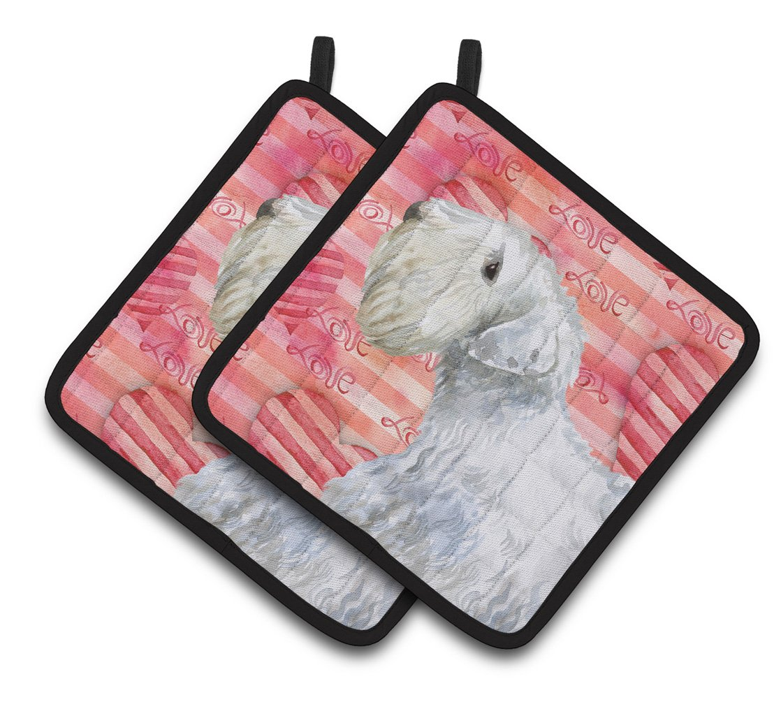Buy this Sealyham Terrier Love Pair of Pot Holders BB9771PTHD