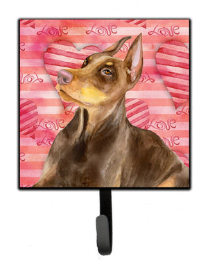 Buy this Doberman Pinscher Love Leash or Key Holder BB9796SH4