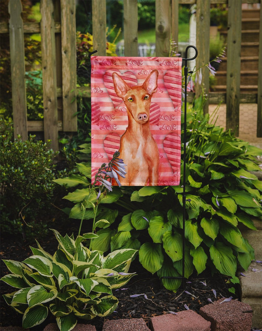 Buy this Pharaoh Hound Love Flag Garden Size BB9802GF