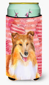 Sheltie Love Tall Boy Beverage Insulator Hugger BB9807TBC by Caroline's Treasures