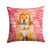 Buy this Tibetan Mastiff Love Fabric Decorative Pillow BB9808PW1414