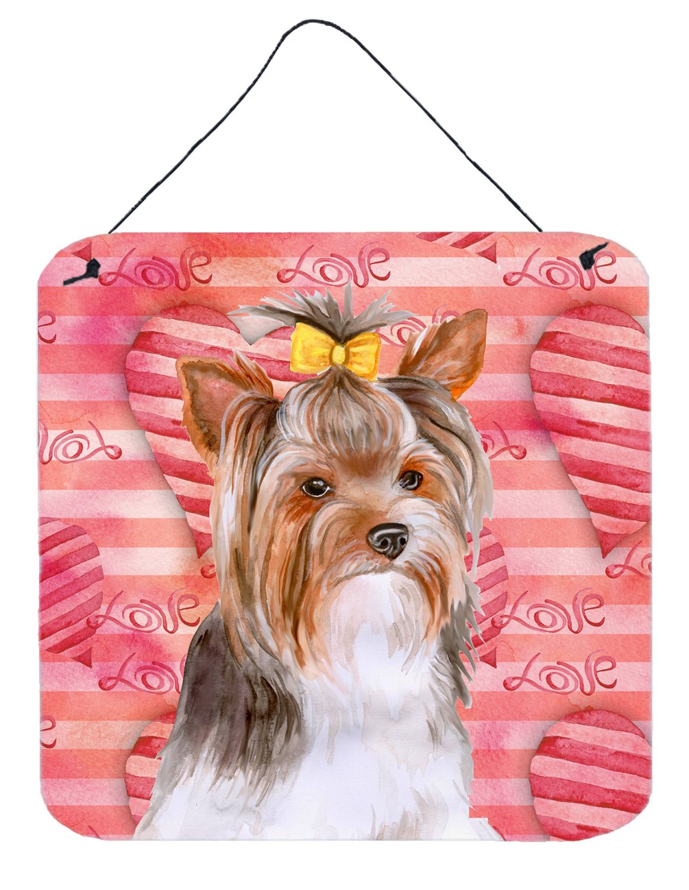 Buy this Yorkshire Terrier #2 Love Wall or Door Hanging Prints BB9810DS66