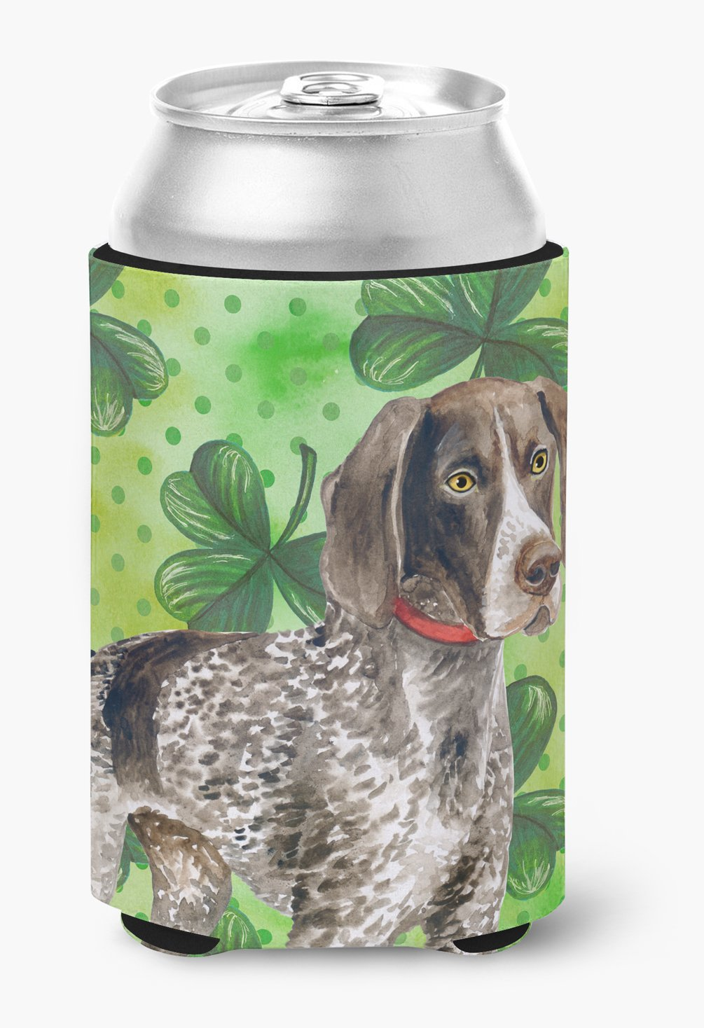 Buy this German Shorthaired Pointer St Patrick's Can or Bottle Hugger BB9815CC